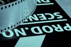 Fotografische film Filmklep voor het schieten van Films Royalty-vrije Stock Afbeelding