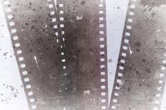 Fotografische filmstrook Stock Foto's