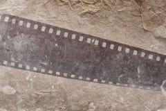 Fotografische filmstrook Stock Afbeelding