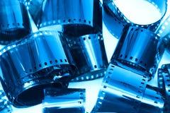 Fotografische filmstukken stock afbeeldingen
