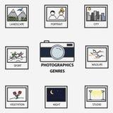 Fotografische Genres Royalty-vrije Stock Foto