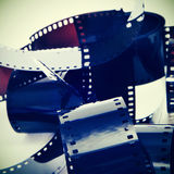 Fotografisk film Royaltyfria Foton