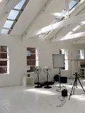fotografisk liten studio Royaltyfria Foton