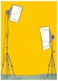 fotografisk studio Arkivbild