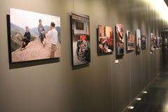 Fotografisk utställning för BRUNO BARBEY 'S Arkivfoton