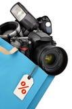 Fotografiutrustning Arkivfoton