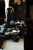 Fotografiutrustning Arkivfoto