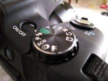 Fotografiutrustning - Digital kamera arkivfoto