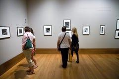 Fotografiutställning Arkivbild
