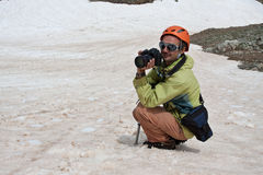 Fotografo. Fotografia Stock Libera da Diritti