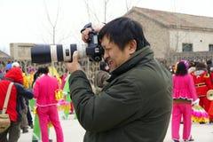 Fotografo Fotografia Stock Libera da Diritti