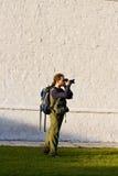 Fotografo Fotografie Stock