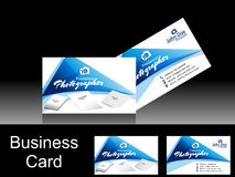 Fotografo Business Card di vettore Fotografie Stock