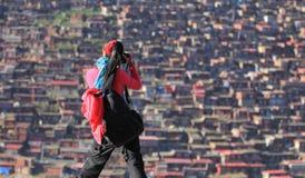 Fotografo del viaggiatore Fotografia Stock Libera da Diritti