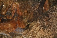 Fotografo dell'occasione con cave lo Ialomicioara 2 Immagine Stock