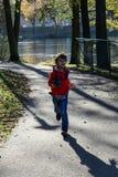 Fotografo di autunno Fotografia Stock Libera da Diritti