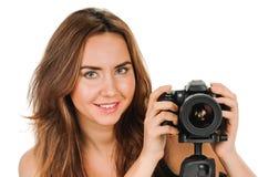 Fotografo di bellezza Fotografie Stock