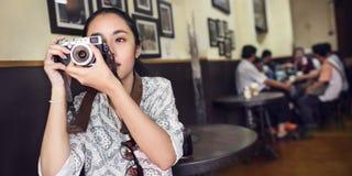 Fotografo Photography Concept della fotografia della macchina fotografica immagini stock