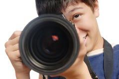 Fotografo professionista Immagini Stock