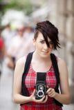 Fotografo sorridente Immagine Stock Libera da Diritti
