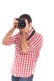 Fotografo sul lavoro immagine stock libera da diritti