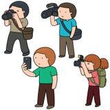 fotografowie royalty ilustracja