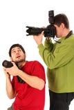 fotografowie zawodowych zdjęcie stock