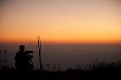 Fotografschattenbild Lizenzfreies Stockbild
