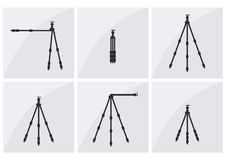 Fotografstativsatz Lizenzfreies Stockbild