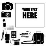 Fotografstativsatz Stockbilder