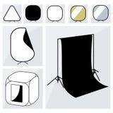 Fotografstudio-Ausrüstungssatz Lizenzfreies Stockfoto