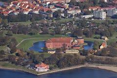 fotografujący cytadeli lotniczy landskrona Obrazy Stock