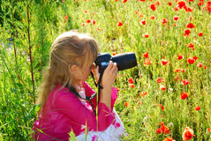 fotografów potomstwa Zdjęcie Royalty Free