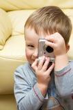 fotografów potomstwa Obrazy Royalty Free