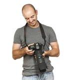 fotografwhitebarn Arkivbilder