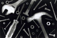 Fotogramma degli strumenti Fotografia Stock