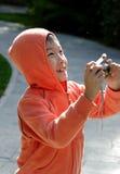 fotographia cinese della ragazza fotografia stock libera da diritti