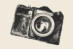 Fotographia del vecchio banco fotografie stock