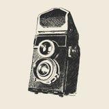 Fotographia del vecchio banco immagini stock
