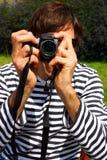 Fotographia di Digitahi Fotografia Stock