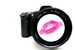 Fotographia di passione Fotografie Stock Libere da Diritti