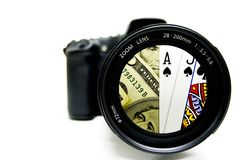 Fotographia di Vegas fotografia stock