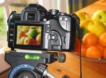 Fotographia a macroistruzione dell'alimento Fotografie Stock