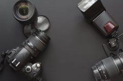 Fotographie mit Kamera Stockfotos