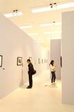 Fotographien-Ansammlungs-Ausstellung Lizenzfreies Stockfoto