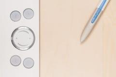 Fotographienpfostenproduktion mit grafischer Tablette Lizenzfreies Stockbild