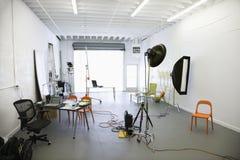 Fotographienstudio. Lizenzfreies Stockbild
