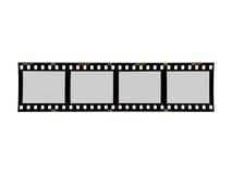 Fotographische Negative Lizenzfreies Stockbild