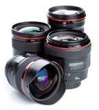 Fotographische Objektive Lizenzfreies Stockbild