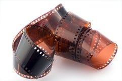 Fotographischer negativer Film Stockfotos
